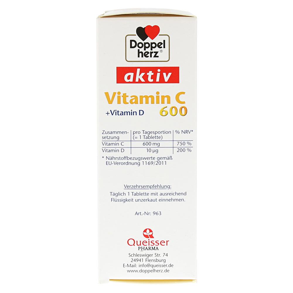 Erfahrungen Zu Doppelherz Vitamin C 600vitamin D Tabletten 40 Stück