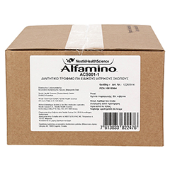ALFAMINO Pulver 6x400 Gramm - Vorderseite