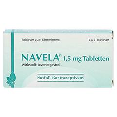 NAVELA 1,5 mg Tabletten 1 Stück N1 - Vorderseite