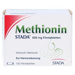 METHIONIN STADA 500 mg Filmtabletten 100 Stück N3 - Vorderseite