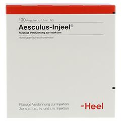 AESCULUS INJEEL Ampullen 100 Stück N3 - Vorderseite