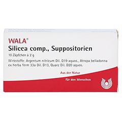 SILICEA COMP.Suppositorien 10x2 Gramm N1 - Vorderseite