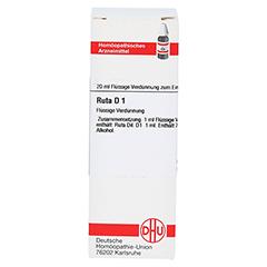RUTA D 1 Dilution 20 Milliliter N1 - Vorderseite
