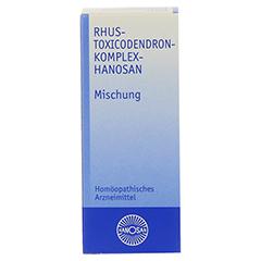 RHUS TOXICODENDRON KOMPLEX Hanosan 50 Milliliter N1 - Vorderseite