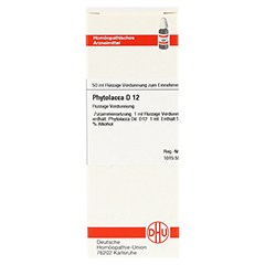 PHYTOLACCA D 12 Dilution 50 Milliliter N1 - Vorderseite