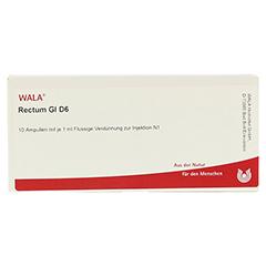 RECTUM GL D 6 Ampullen 10x1 Milliliter N1 - Vorderseite