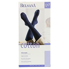 BELSANA Cotton Stütz-Kniestrumpf AD Gr.1 weiß 2 Stück - Vorderseite