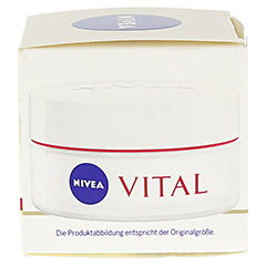 NIVEA VISAGE Vital aufbauende Tagespflege 50 Milliliter - Rechte Seite