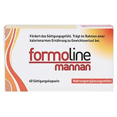 FORMOLINE mannan Kapseln 60 Stück - Vorderseite