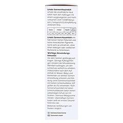 Linola Sonnen-hautmilch LSF 50 100 Milliliter - Rechte Seite