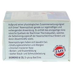 EMSER Nasenspülsalz physiologisch Btl. 20 Stück - Rechte Seite