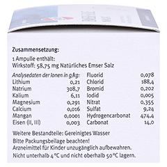 Emser Sole Inhalat Lösung für einen Vernebler 20 Stück N2 - Rechte Seite