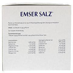 Emser Salz im Beutel 2,95g 100 Stück N3 - Rechte Seite