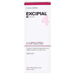 EXCIPIAL U Lipolotio 200 Milliliter - Rückseite