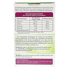 KNEIPP Herzvitamin B1 Kapseln 30 Stück - Rückseite