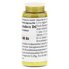ANTIMONIUM CRUDUM D 6 Tabletten 40 Stück N1 - Rückseite