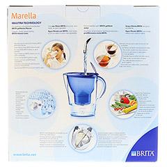 BRITA Starterpaket Marella Cool blau+3-Maxtra Kar. 1 Stück - Rückseite