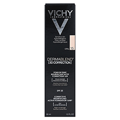 VICHY DERMABLEND 3D Make-up 15 30 Milliliter - Rückseite
