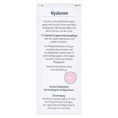 HYALURON Lippen-Volumenpflege Balsam 7 Milliliter - Rückseite