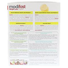 MODIFAST Programm Drink Banane Pulver 8x55 Gramm - Rückseite