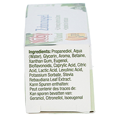 NUBY All Natural Zahnungs-Gel 15 Gramm - Linke Seite