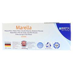 BRITA Starterpaket Marella Cool blau+3-Maxtra Kar. 1 Stück - Oberseite