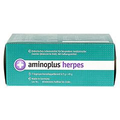 AMINOPLUS herpes Pulver 7 Stück - Unterseite