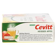 HERMES Cevitt heißer Apfel Granulat 14 Stück - Rechte Seite