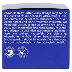 BIOMARIS body butter sunny orange 200 Milliliter - Rechte Seite