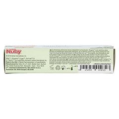 NUBY All Natural Zahnungs-Gel 15 Gramm - Rückseite