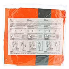 WARNWESTE DIN EN471 orange 1 Stück - Rückseite
