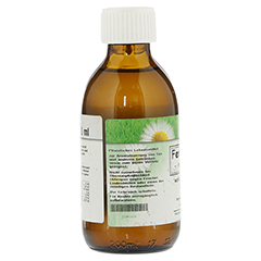 FENCHELSIRUP mit Honig 200 Milliliter - Rückseite