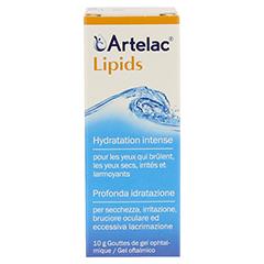 ARTELAC Lipids MD Augengel 1x10 Gramm - Rückseite