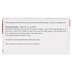 SILICEA COMP.Suppositorien 10x2 Gramm N1 - Rückseite