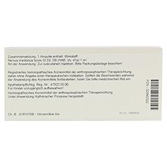 NERVUS MEDIANUS GL D 8 Ampullen 10x1 Milliliter N1 - Rückseite