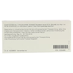 PERIOSTEUM GL D 8 Ampullen 10x1 Milliliter N1 - Rückseite