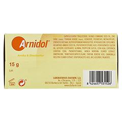 ARNIDOL sun Stick LSF 50+ 15 Gramm - Unterseite