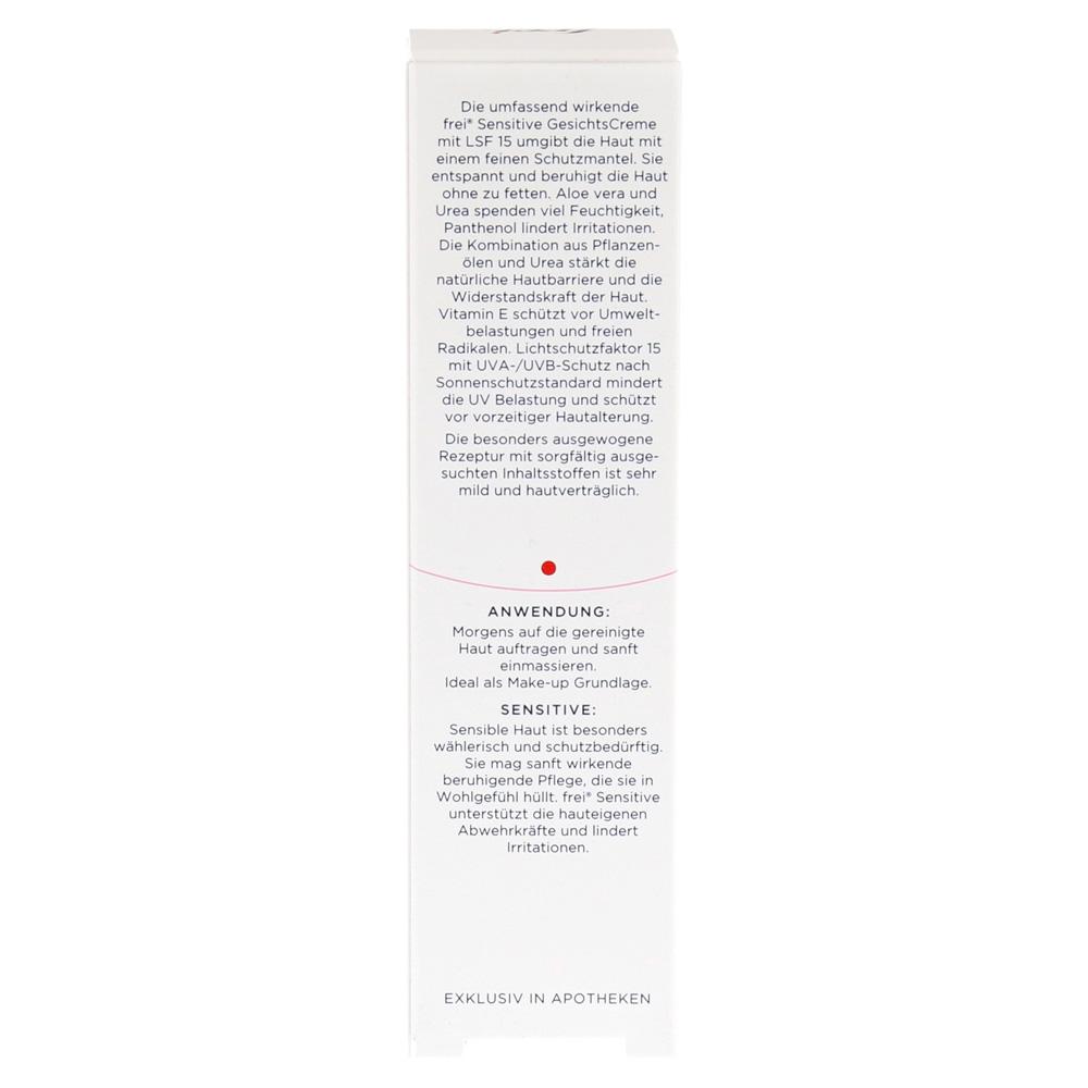 erfahrungen zu frei sensitive balance gesichtscreme lsf 15 40 milliliter medpex versandapotheke. Black Bedroom Furniture Sets. Home Design Ideas
