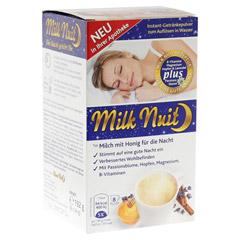 MILK Nuit gute Nacht Drink Typ Milch+Honig Pulver 8 Stück
