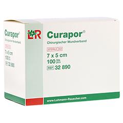 CURAPOR Wundverband steril chirurgisch 5x7 cm 100 Stück