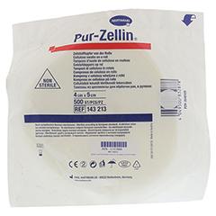 PUR-ZELLIN 4x5 cm unsteril Rolle zu 500 St.CPC 1 Stück