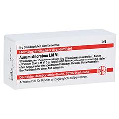 LM AURUM chloratum VI Globuli 5 Gramm N1