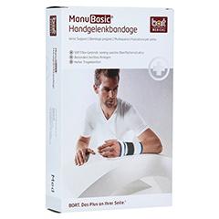 BORT ManuBasic Bandage links medium schwarz 1 Stück