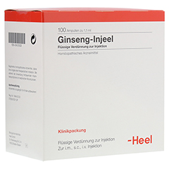 GINSENG INJEEL Ampullen 100 Stück N3