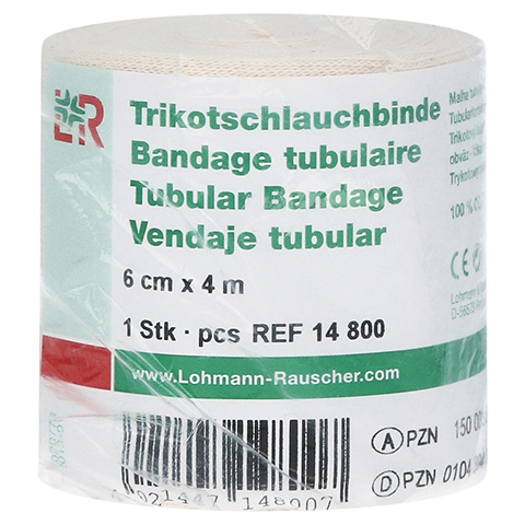 TRIKOTSCHLAUCH Binde 6 cmx4 m 1 Stück