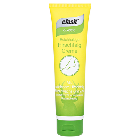 EFASIT CLASSIC reichhaltige Hirschtalg Creme 100 Milliliter