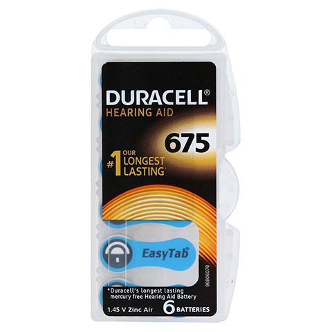 DURACELL EasyTab 675 PR44 6 Stück