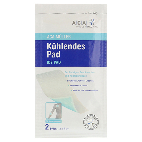 KÜHLENDES Pad 5x12 cm ACA Müller Medical 2 Stück