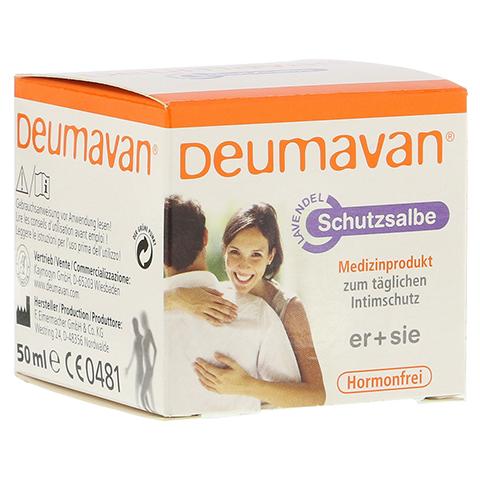 Deumavan Schutzsalbe Lavendel Dose 50 Milliliter