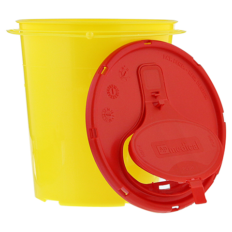 KANÜLENEIMER 1,5 l gelb 1 Stück